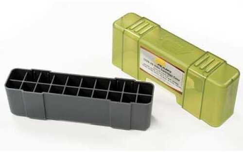 Plano 20 Round Ammo Case Rifle Ammo Case Charcoal/Green Hard .220/.243/.257/.270/.300/.308/.444 6Pk 1229-2 1229-20