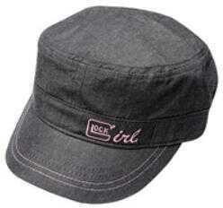 Glock OEM, Girl Corporal Hat, Black/Silver Finish
