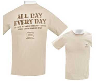 Glock Apparel Large Sand T-Shirt GA10102