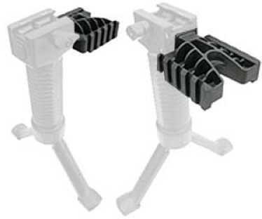 Grip Pod Light Rail Mount Black Polymer Picatinny Side Rail Mount Ambidextrous Grip-Pod GPS-DLR