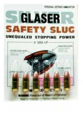 Glaser Ammunition Glaser Silver 38 Special 80Gr Pre-Fragmented 6/Pack 60 2000