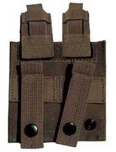 Galati Gear Mag Pouch Black 2 High Capacity Pistol Magazines Nylon GLMA318-B