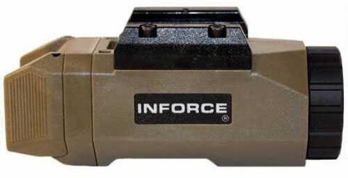 Inforce APL LED Pistol Light 200 Lumen 1x CR123A Battery Ambidextrous Paddle Composite Body