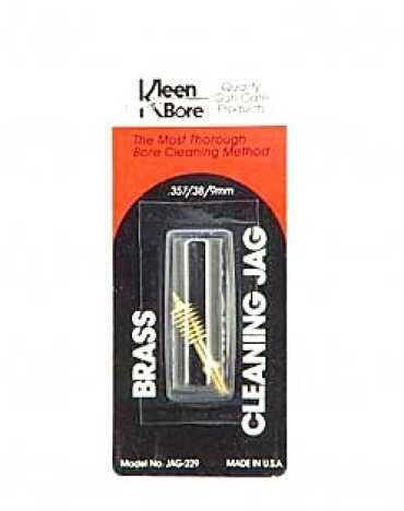 Kleen-Bore Jag 38/357/9MM/380 Brass 10/Pack Blister Card JAG229