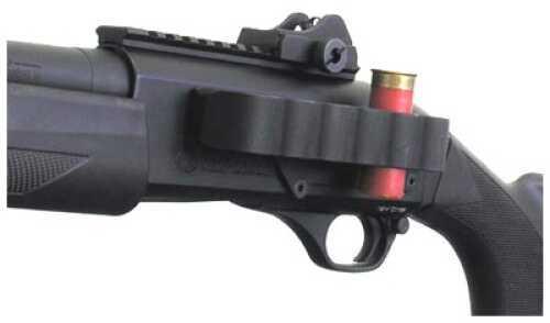 Mesa Tactical 6-Shell SureShell Carrier Side Saddle Rugged, reliable on-gun shotshell carriers. Black FN SLP 12 Ga 90120
