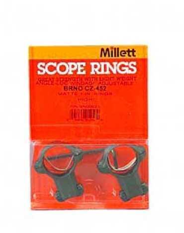 """Millett Sights Ring 1"""" High Matte CZ452 Euro BN00023"""