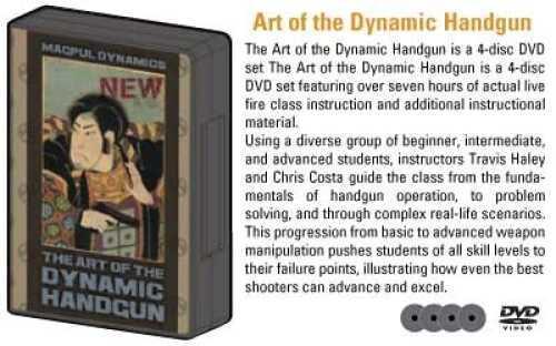 Magpul Industries Corp. Magpul Industries Corp DVD Art of the Dynamic Handgun DYN004