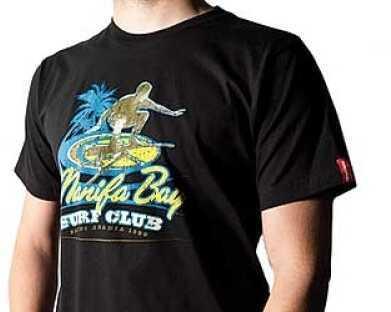 Magpul Industries Corp. Magpul Industries Corp Apparel XL Black Fitted T-Shirt Manifa Bay Surf Club MAG610-BLK-XL