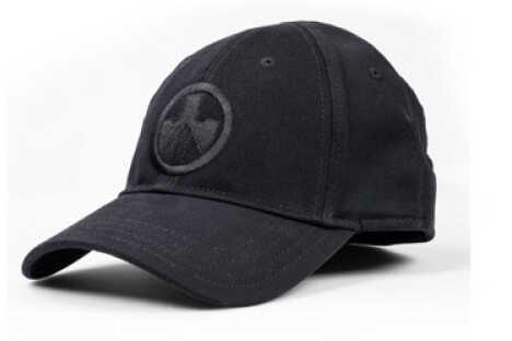 Magpul Industries Corp. Cap S/M Black Logo Stretch Fit Ballcap MAG912-BLK-SM