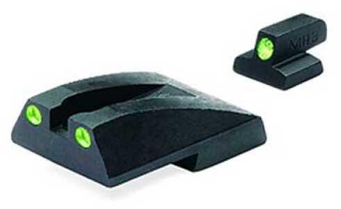 Mako Group S&W - Tru-Dot Sights Novak Replacement 3900/5900/6900 Fixed Set ML11735