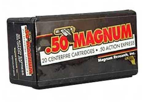 Magnum Research Blount 50 Action Express 350Gr Jacketed Soft Point 20 400 DEP50JSP350B