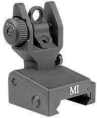 Midwest Industries SPLP Sight Picatinny Black Low Profile Flip Sight MCTAR-SPLP