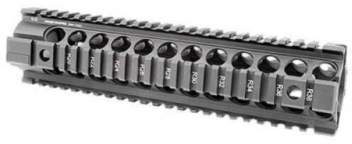 Midwest Industries Generation 2 Forearm Black Built-In QD PoInts 4-Rail Handguard Full Length Full MCTAR-22G2