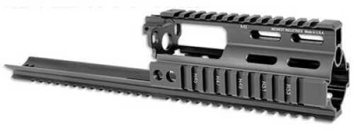 Midwest Industries SSR Scar Rail Extension Rail Black MWI SSR Scar Rail FN Scar Mi-S1617-SSR-Blk