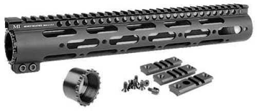 Midwest Industries Generation 2 SS Forearm Black Modular Design - MI-SS12G2