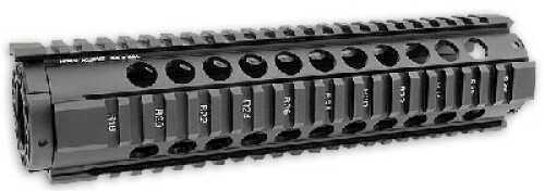 """Midwest Industries T Series Forearm Black 4-Rail Handguard 10"""" MI-T10"""