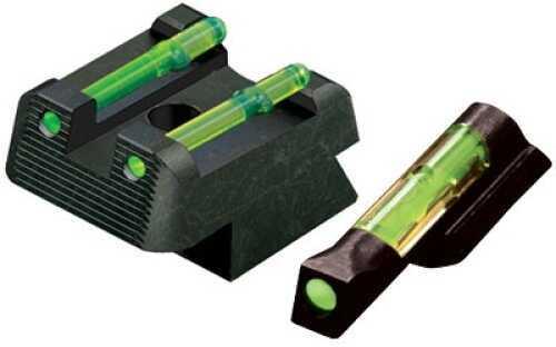 HiViz Sight Systems Combo Sight CZ 75 Full Green Front/Rear CZ2210-G