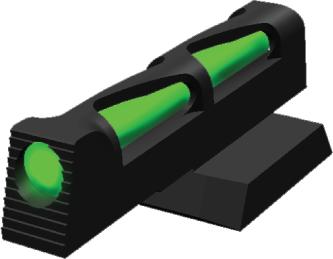 HiViz Sight Systems Hi-viz Litewave Sight Dovetail Novak Gun Sight Interchangeable Pipe Nvlw01