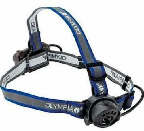 Motorola Ex Headlamp 80 Lumen, Ipx4, Remote Operation 3 X Aaa, Headband 1 Gray/blue Ex080