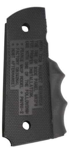 Pearce Grip Rubber Black 1911 Officer's PGOM1