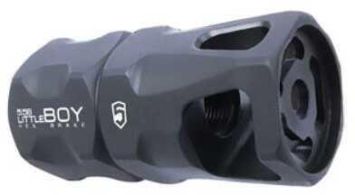Phase 5 Weapon Systems LittleBOY Hex Brake 5.56/.223, 1/2 x 28 TPI Black Md: LITTLEBOY