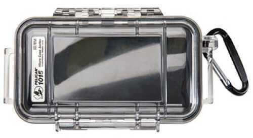 "Pelican 1015 Case Black/Clear Hard 6.68""X3.88""X1.86"" 1015-005-100"