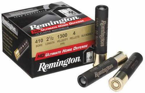 "Remington Ultimate Home Defense 410 Gauge 2.5"" 000 Buck Buckshot 15 150 410B000HD"