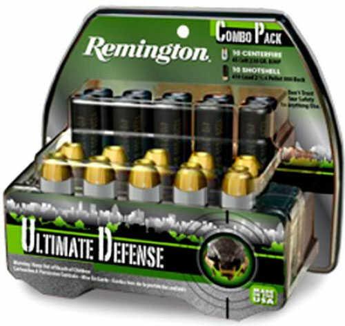 Remington Ultimate Defense Combo Pack .410 Gauge/.45 Long 1225 fps Ammunition HD45C410