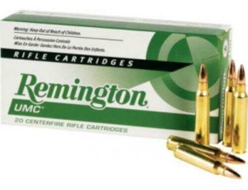 Remington UMC, 300 AAC Blackout, 120 Grain, Open Tip Flat Base 300AAC1