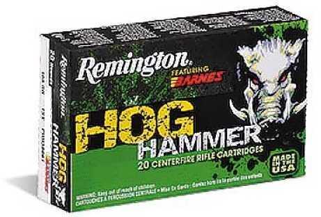 Remington Hog Hammer 308 Win 168Gr Triple Shock X 20 rounds PHH308W2