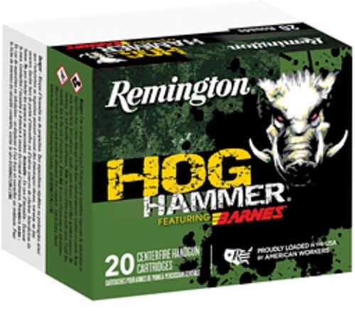Remington Hog Hammer 44 Mag 225 Grain Barnes XPB Bullet 20 Round Box
