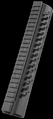 "Samson Manufacturing Corp. Keymod Evolution Rail Black Mid Lenght Super Slim Free Float Handguard AR-15 10"" KM-EVO-10"