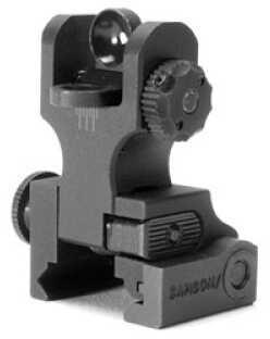 Samson Manufacturing Corp. Front Sight Picatinny Black Standard Dual Aperature A2 6061 Aluminum, Mil-Spec Hardcoat Anodi QF-FRS-A2