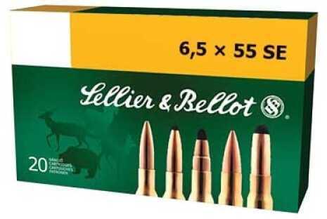 Sellier & Bellot Rifle 6.5X55 Swedish 140Gr Soft Point 20 SB6555B