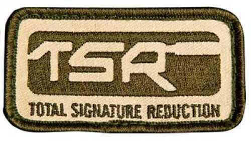 Surefire Patch Od/tan Rectangle Patch W/ Tsr Logo Velcro Backing 71-06-465