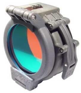 """Surefire Fm35 Filter Lights W/ 1.25"""" Bezel Red Filter For 1.25"""" Diameter Bezels Spring-Loaded Filter Lid Red Fm35"""