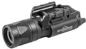 Surefire M300V Mini-Scoutlight Weaponlight Picatinny Black White/IR LED Weaponlight 150 Lumens X300V