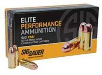 Sig Sauer Elite Ball, 357Sig, 125 Grain, Full Metal Jacket E357B1