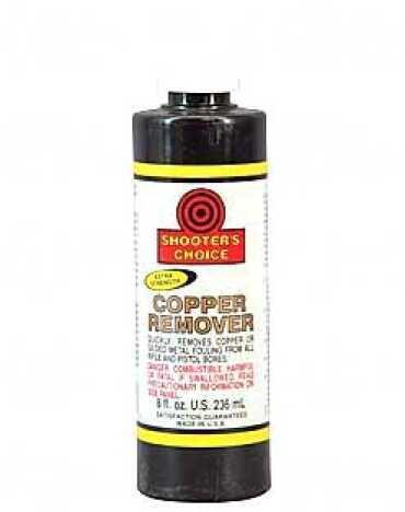 Shooter's Choice Copper Remover Liquid 8Oz 12/Box Plastic Bottle CCRS08C