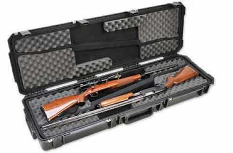 "SKB 3I-Series Double Rifle Black Hard 50.5"" x 14.5"" x 6"" 3I-5014-DR"