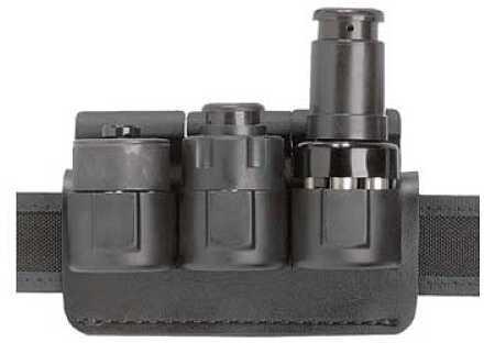 Safariland 333 Triple Pouch Black SLJ-K2S Polymer 333-3-2-175