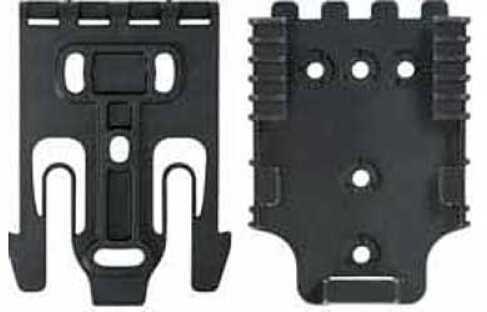 Safariland QLS Platform Kit Black 1 Male & 1 Female Polymer Mounting Hardware QUICK-KIT1-2