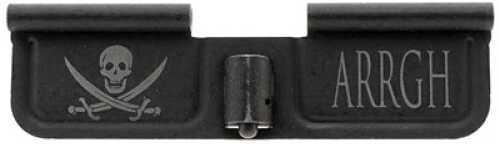 "Spike's Tactical Ejection Port Door Part Black ""Pirarte & Arrgh"" Engraving SED7003"