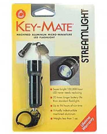 Streamlight Key Mate White LED, (Black) 72001