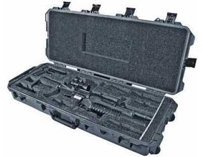 "Pelican Storm Cases iM3100 Single M4 & Single M9 Case With Custom Foam 39.8""X16.5""X6.7"" Black 472PWCM4BLK"