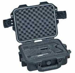 "Pelican Storm Cases iM2050 Single M9/1911/M11 Pistol Case With Custom Foam 11.8""X9.8""X4.7"" Black 472PWCM9BLK"