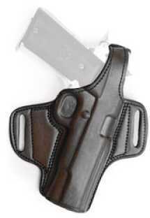 "Tagua BH1 Thumb Break Belt Holster Right Hand Black 5"" Colt Govt Leather BH1-200"