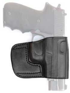 Tagua BSH Belt Slide Right Hand Black Glk 17, 22 Leather BSH-300