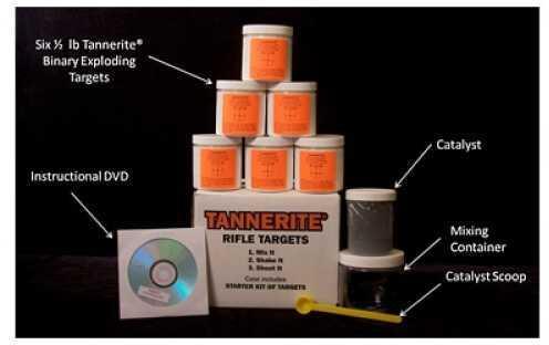 Tannerite Tann Starter Kit/ Cont. 6 - 1/2Lb Targets (4) STR