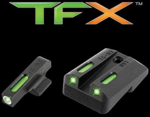 Truglo TFX Tritium/Fiber-Optic Day/Night Sights 1911 Government Novak 260/450 Set Model TG13NV1A